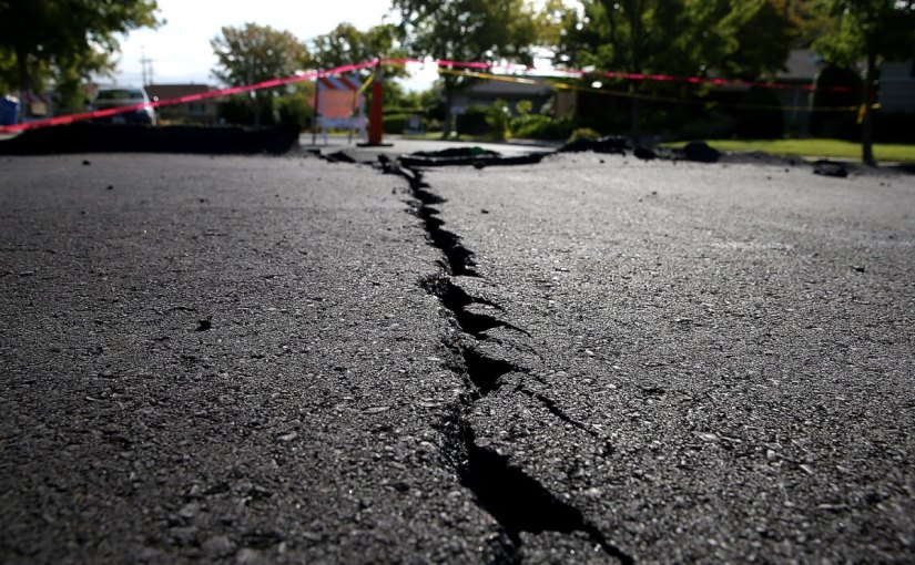 Aftershocks Of The Earthquake